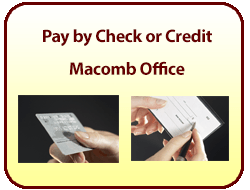 Pay your bill online with e-check or credit card for Macomb Office